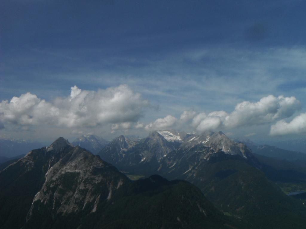Zugspitze, montagna più alta di Germania