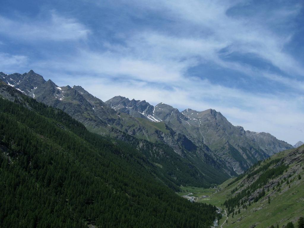 La valle Argentera