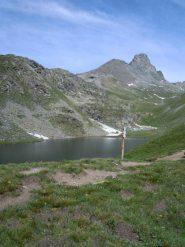 Lago blu e roc dla Niera