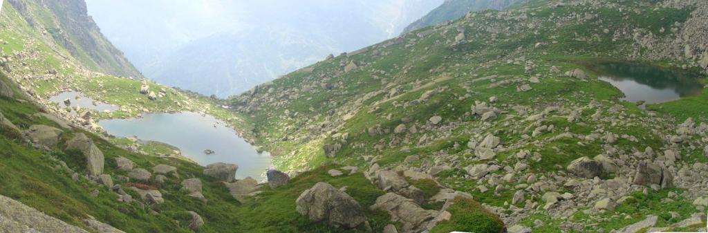 i laghi visti dall'alto