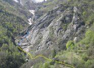 in giallo il sentiero