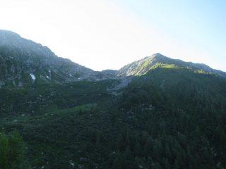 Alpe, Colle della Bora Freida e Monte Canaussa
