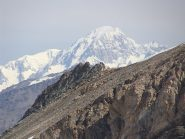 zoom sul monte bianco