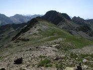 Il crinale percorso dal passo Seboulé