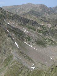 Colle dell Guercia e il bel sentiero che porta al Passo Autaret