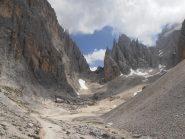 03 - la valle del Sassolungo dal basso