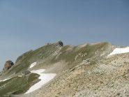 Dorsale verso la cima del Freide