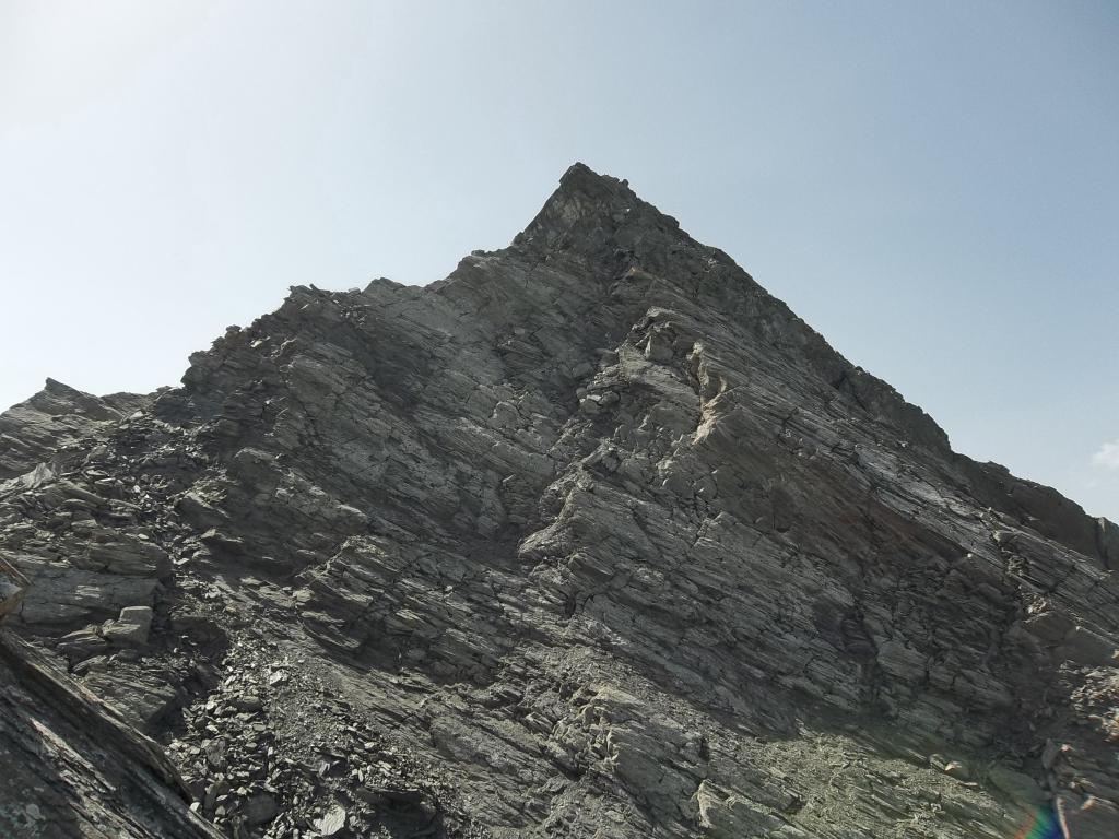 Cresta NE, a sinistra