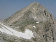 Grand Hoche con la neve prima del Colle