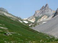 vallone di salita che porta al col du Vallon