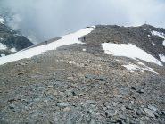 La croce del Mont Rous vista dalla vetta vera