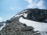 Dal Colle il tratto finale per il Mont Rous