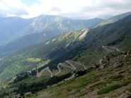 la strada del colle di Tenda versante francese