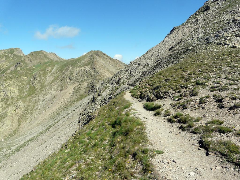 Tra il Lago di Lausfer Superieur ed il Col du Saboulè