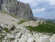 pietraia verso Porta Marguareis