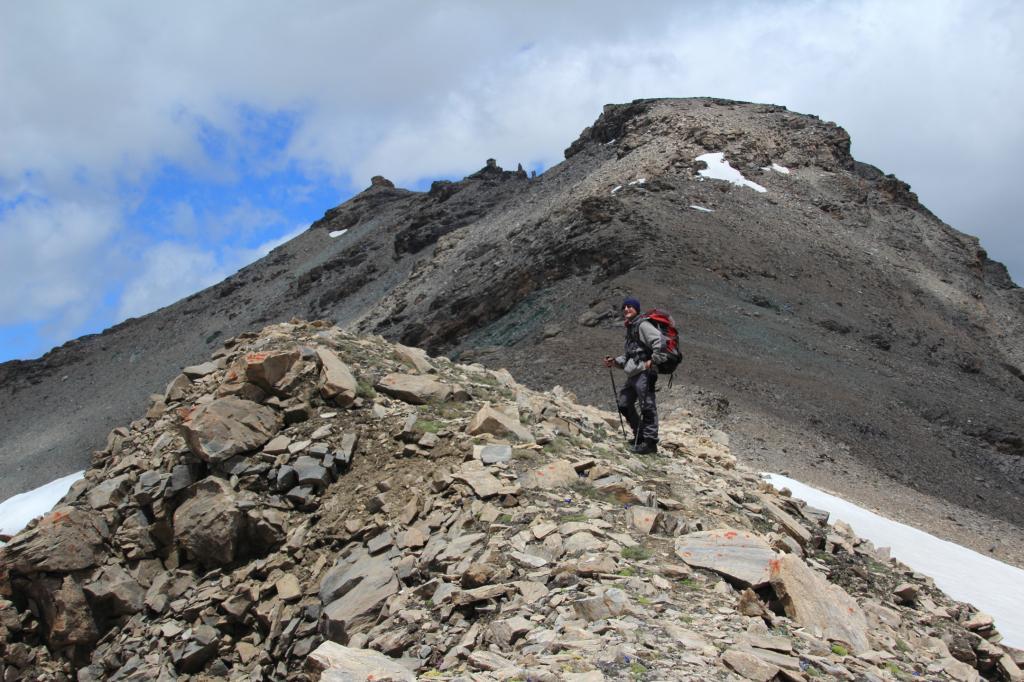 Bassac Nord (Punta) da Usellières per il Col Bassac e la cresta Sud 2012-07-07