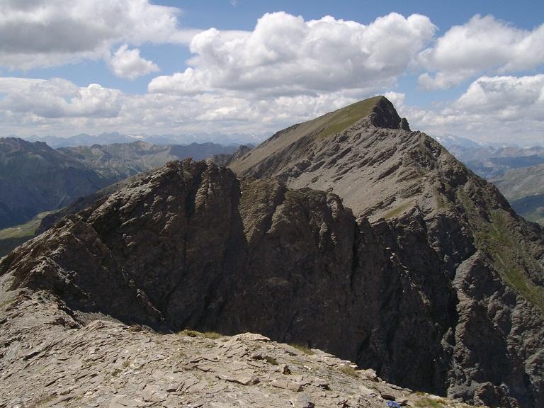 Via di cresta punta Sagnes Longues