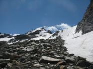 Becca Bianca dalla cresta Nord-Ovest