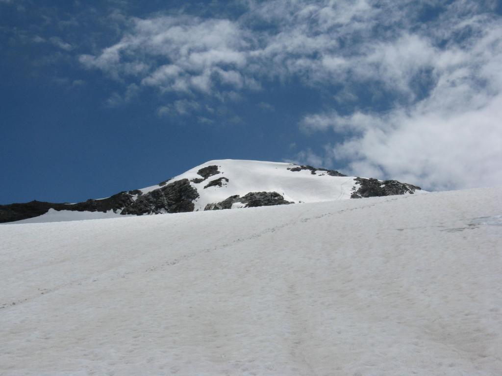 Becca Bianca dal ghiacciaio des Ussellettes