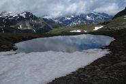 il primo dei laghetti di San Martino (8-7-2012)