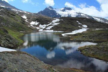 lo splendido Lago inferiore di San Martino (8-7-2012)