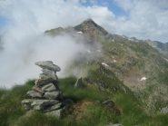 sulla Cima di Janzo, al cospetto del monte Palancà