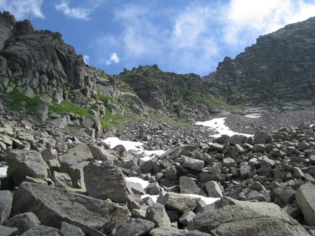 Cadrega (Colle della) o Bocchetta di Lavina da Tressi 2012-07-09