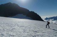 Sul ghiacciaio della Ciamarella