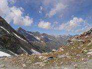 06 - Dal Col Fussi c'è già un bel panorama dalla Tersiva, a sx, fino all'Emilius, a dx