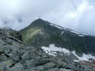 la cresta dalla Chiavesso verso Ciorneva