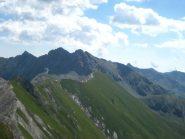 Rocca nera, Orsiera e Rocciavrè dal Pelvo