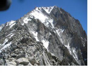 Il Bietschhorn..dalla base della cresta