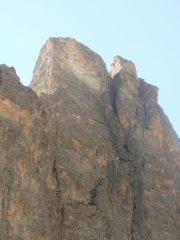 La Torre a SX e la Rocca a DX...dopo la discesa