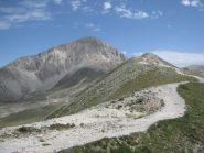 Cresta che va verso la Sella di Monte Aquila