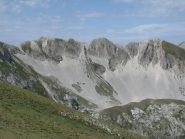 La cresta del Monte Portella