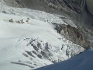 il sottostante ghiacciaio della tribolazione