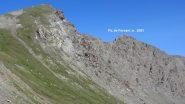 il Pic de Foreant e una parte della cresta di salita vista dal Col de l'Eychassier (15-7-2012)