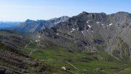 panorami dal Col de l'Eychassier...verso il Colle dell'Agnello (15-7-2012)