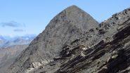 il Grand Queyras m. 3114 osservato dalla cresta SE del Foreant (15-7-2012)