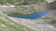 Lac de l'Eychassier visto dal colletto omonimo (15-7-2012)