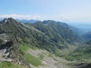 Valchiusella, a sx Monte dei Corni