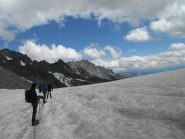 il ghiacciaio prima del rifugio