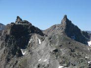 Rocca Bianca e Roc de la Niera viste dal Pelvo