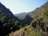 dal belvedere a inizio valle