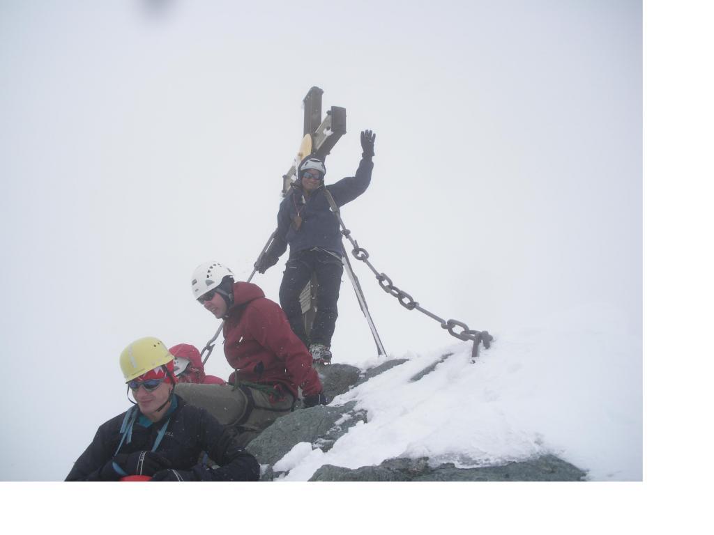Sul tetto d'Austria con un gruppo di Ungheresi...