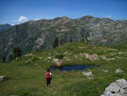 Il laghetto dell'alpe Pian dou Jouc