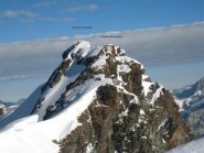Vista verso il Gemello del Breithorn
