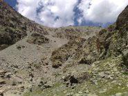 Il passo Calatà visto dal vallone dei duc