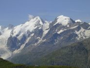 La capanna Paradis -  Piz Morteratsch - Piz Bernina