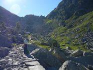 In prossimità del Colle della Mologna Piccola. Sentiero fantastico